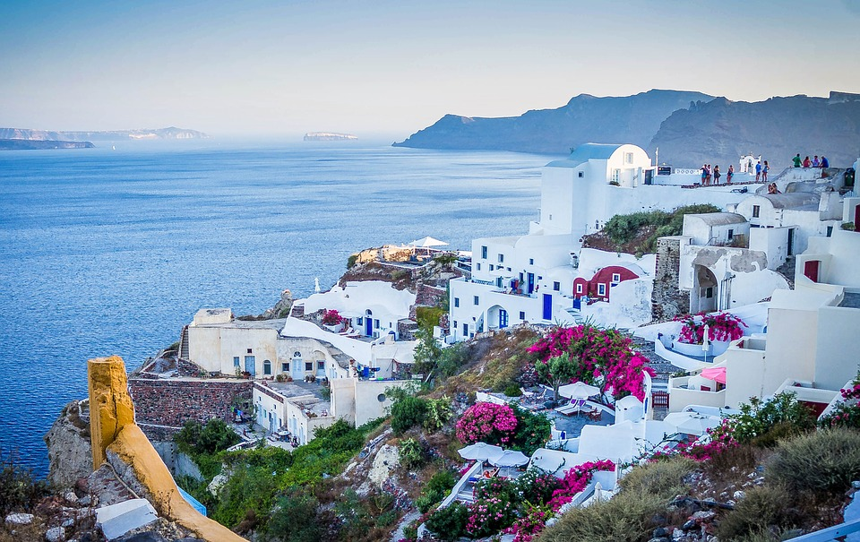 Santorini vino greco tipico