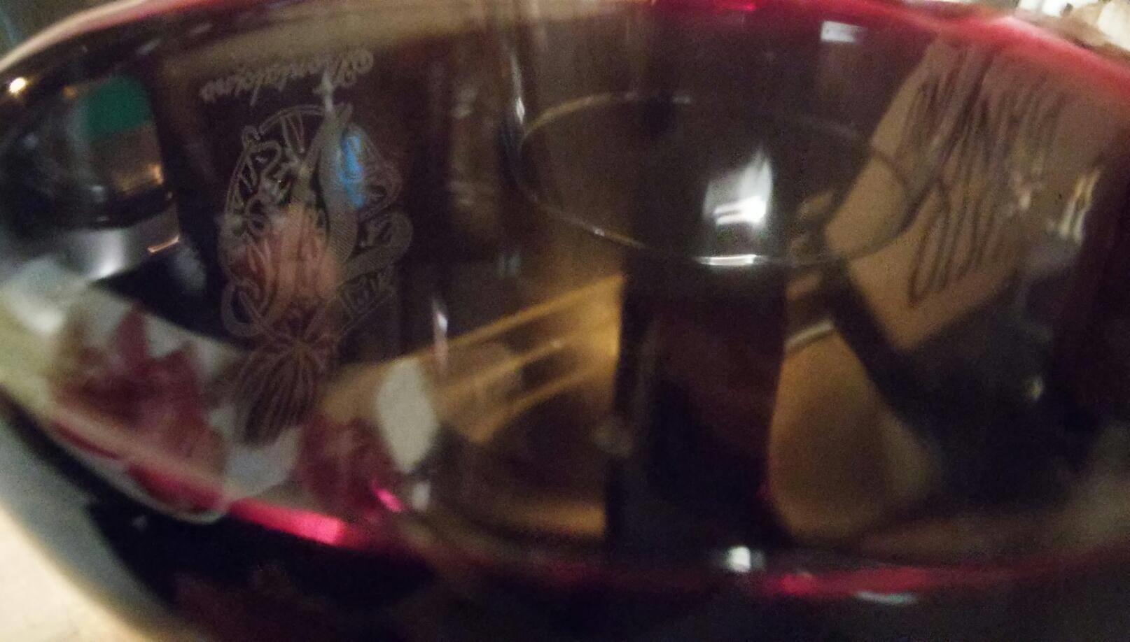 Merlot vino colore rosso