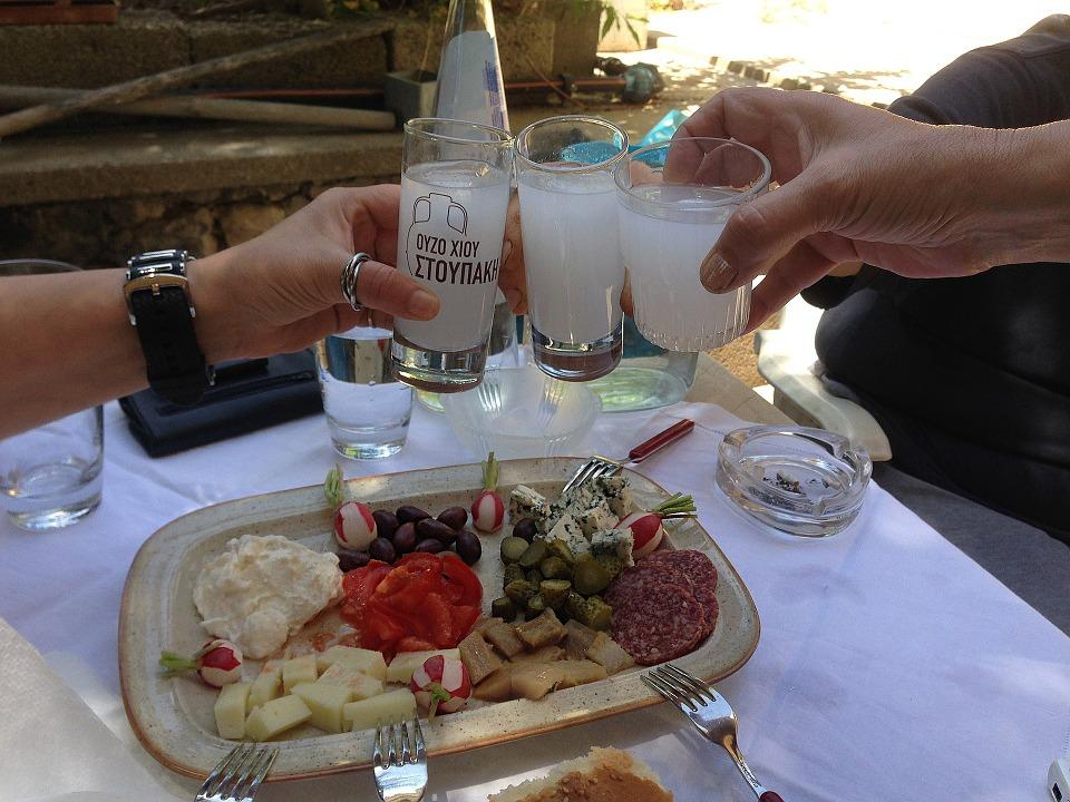 Ouzo liquore greco